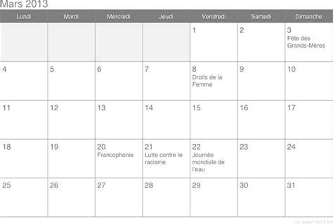 Calendrier Des Fetes 2013 F 234 Tes Civiles En Calendriers Et Dates