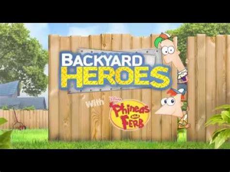 backyard superheroes backyard heroes sensen phineas and ferb youtube