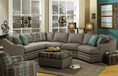 sectional sofa with cuddler craftmaster f9 custom collection customizable 3