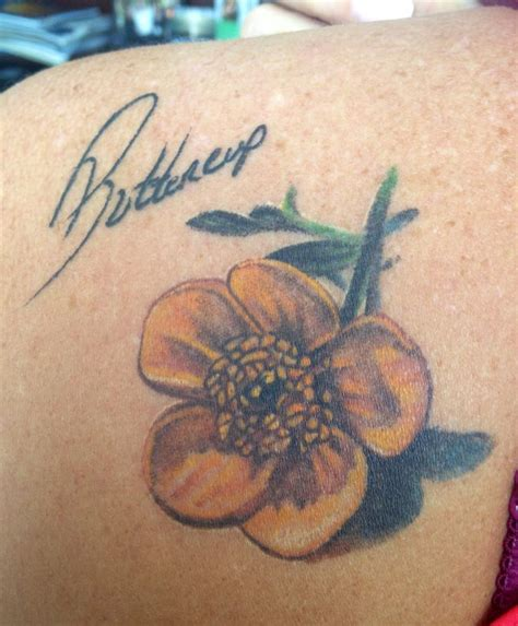 buttercup tattoo designs 1000 ideas about handwriting tattoos on