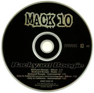 promo import retail cd singles albums mack 10