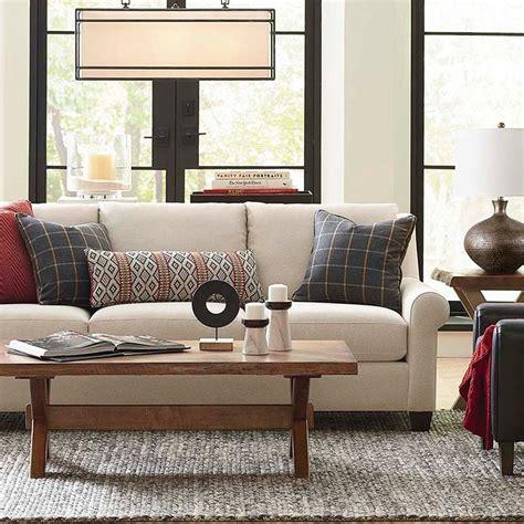 bassett american casual ellery great room sofa