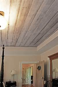 Wood Look Ceiling How Did You Refinish The Barn Wood Ceiling