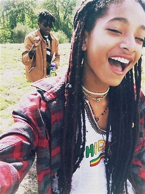 willow smith rocks waist length faux locs oh no they didn t