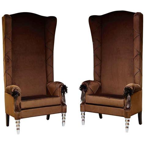 bespoke armchairs pair of armchairs thrones italian cavalli visionnaire
