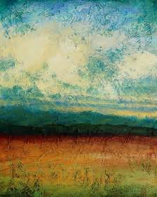 abstract landscapes abstract landscape painting acrylic painting sky blue peaceful