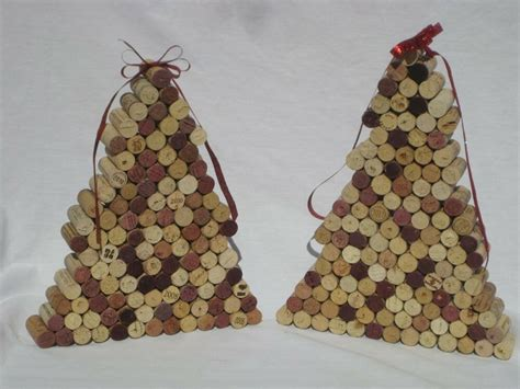 cork christmas tree all wine cork tree handmade upcycled cork decor ebay