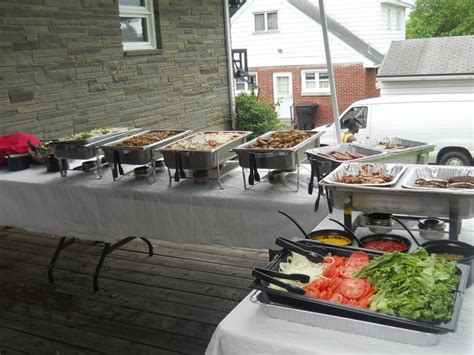 backyard catering photo gallery