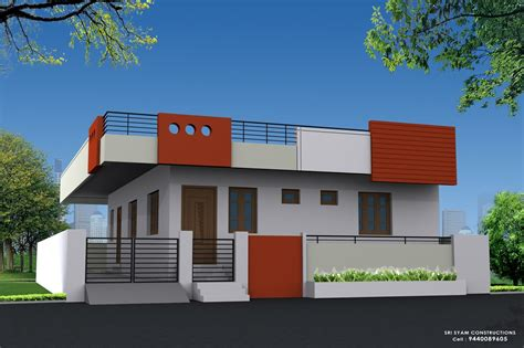 single floor elevation   images small house