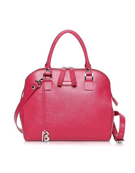 Francesco Biasias Fashionista Satchel by Francesco Biasia Kilburn Saffiano Leather Small Bowler Bag