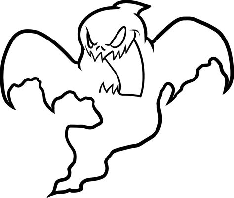 coloring pages of a ghost free printable ghost coloring pages for kids