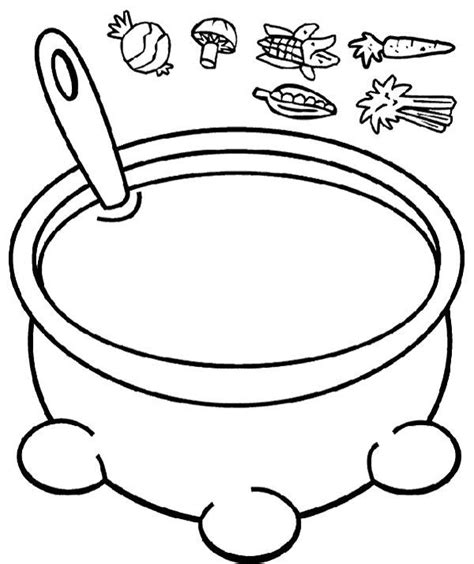 Stone Soup Coloring Page   Coloring Home