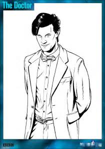dr who coloring pages official doctor who