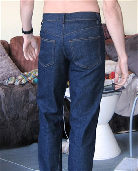 Male Pattern Boldness Jeans | male pattern boldness kwik sew men s jeans done
