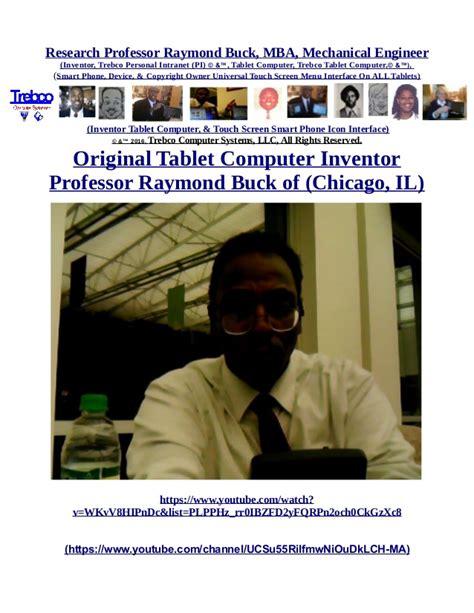 Trebco Tablet Black Mba by Trebco Tablet By Professor Raymond Buck