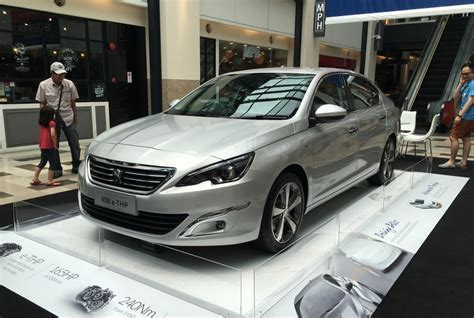 peugeot 408 sedan new peugeot 408 e thp goes on preview ahead of launch