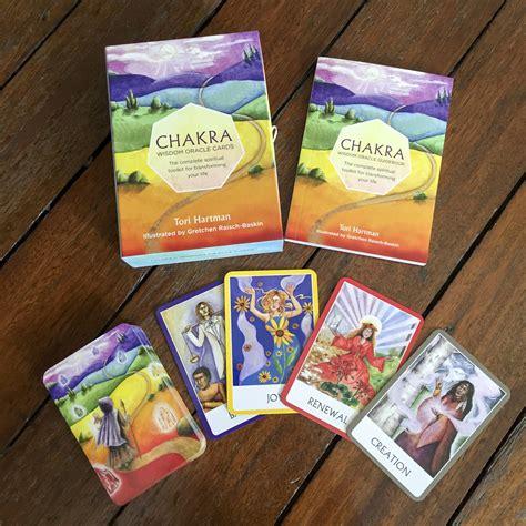 chakra wisdom oracle cards  surplice  spirit
