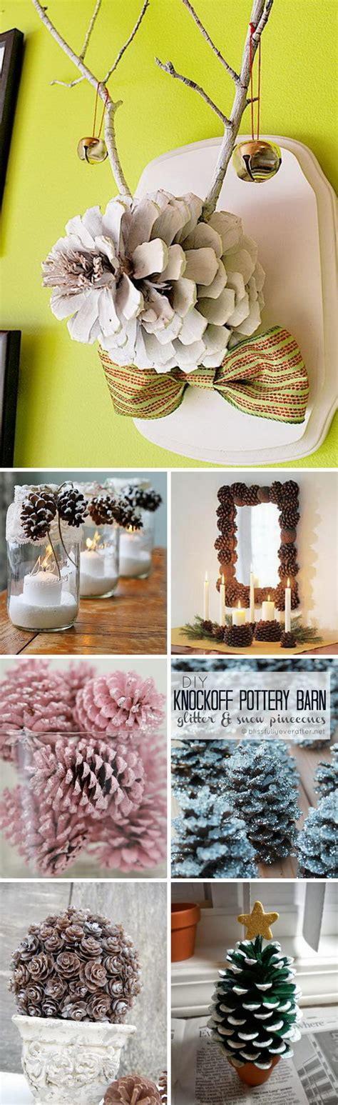 holiday decorating inspiration and ideas 30 pics decor advisor 30 beautiful pinecone decorating ideas tutorials for holiday