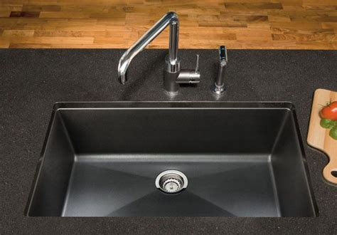 homeofficedecoration blanco black granite kitchen sink