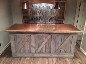 rustic bar top ideas