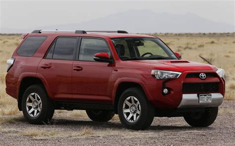 Cadillac Toyota by Comparison Toyota 4runner Srs 4x4 2015 Vs Cadillac