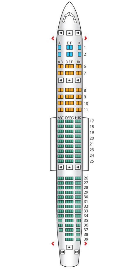 seating plan boeing 777 200 b777 200lr three class emirates seat maps reviews