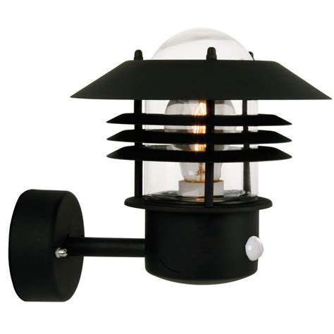 Pir Lights Outdoor Vejers Pir Outdoor Light Up Black 25101003 163 79 16