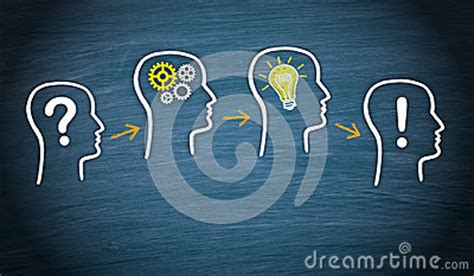 Why Think Businesses Are A Idea by Problem Thinking Idea Solution Stock Photo Image 39502178