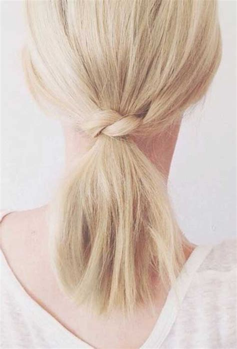 hairstyles easy but cute 10 cute simple hairstyles for short hair short