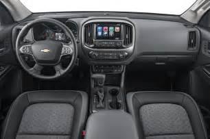 2015 Chevrolet Colorado Interior Comparison Chevrolet Colorado Vs Nissan Frontier Vs