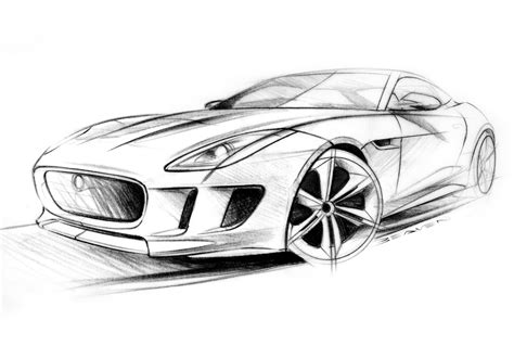 supercar drawing 2011 jaguar c x16 concept supercar supercars drawing