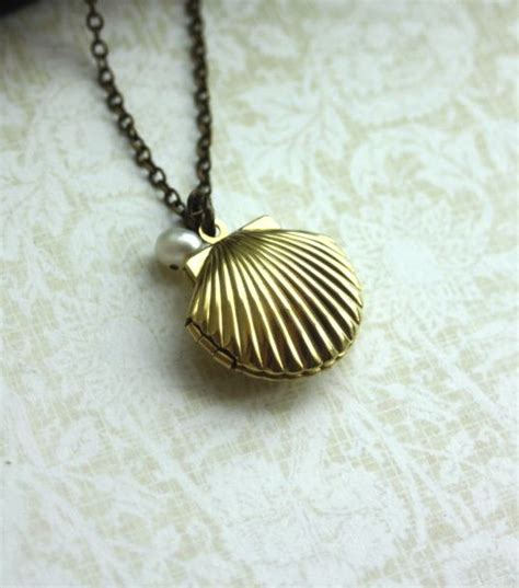 melody s locket mermaid ariel s shell locket
