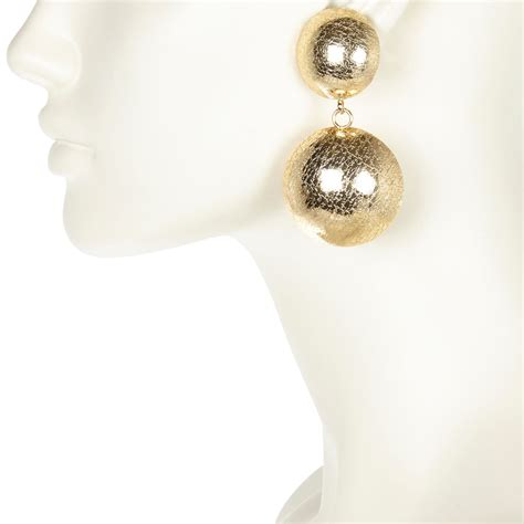 Dangle Earrings River Island river island gold tone disc dangle earrings in gold