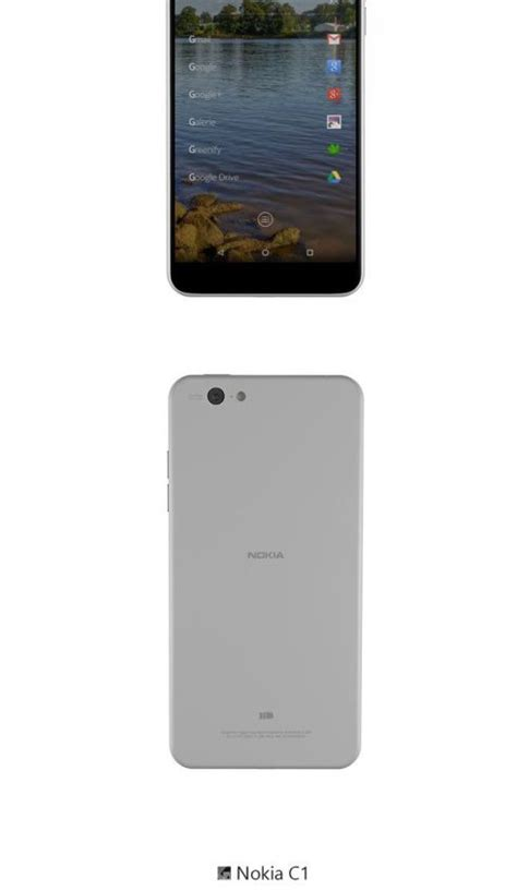 nokia android phone concept nokia c1 phone gets android 5 0 and windows phone versions
