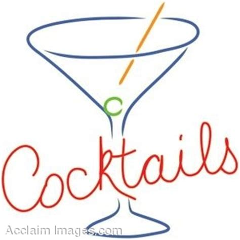 retro cocktail clipart cocktail signs clipart