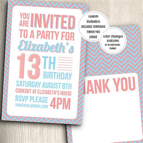 13 birthday card template 21 birthday invitations inspire design cards