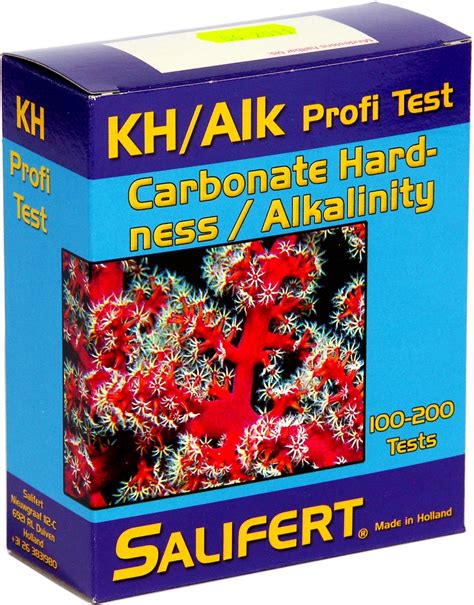 Salifert Test Kit Kh Alkalinity salifert profi test kh alkalinity