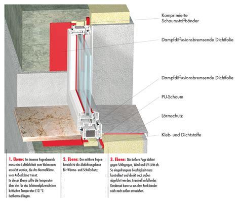 Fenster Mauerwerk Abdichten by Fenstereinbau Wie Vermeidet W 228 Rmebr 252 Cken Fenster