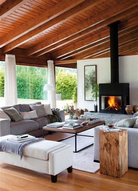 fireplace   cozy  living room tropical living
