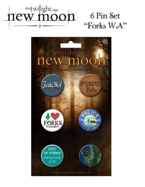 new moon new year gift set twilight new moon pin set of 6 forks wa gifts zavvi