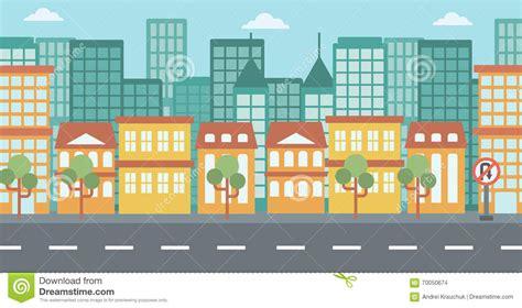 background  modern city stock vector illustration