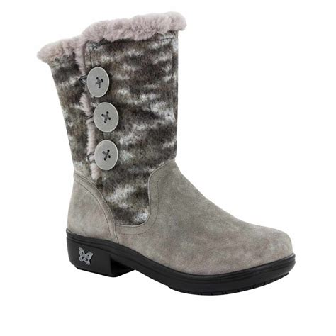 fuzzies boots alegria shoes nanook flint fuzzy boots free shipping