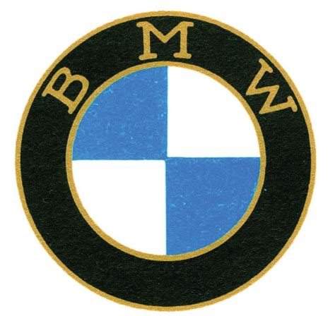bmw logo history history of the bmw logo print