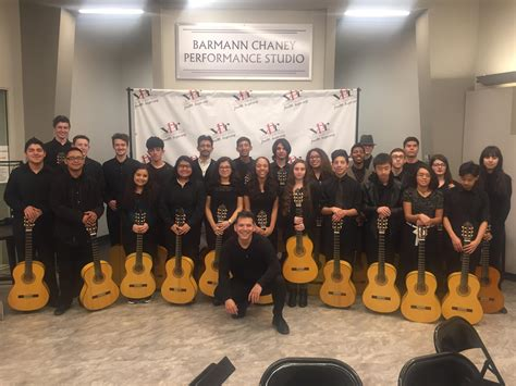 Central Unified School District Calendar Artists Spotlight Central Unified Guitars 2017