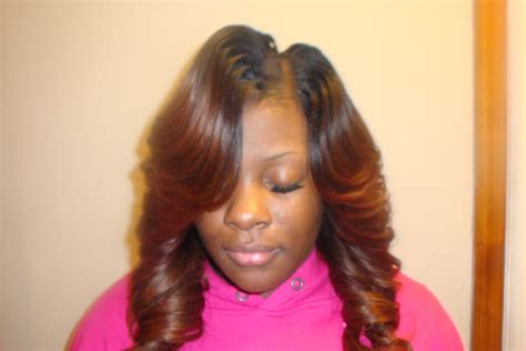 straight sew in hairstyles yinka s ultimate hair designs layers illusion sides 3d