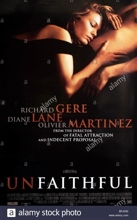 unfaithful film pictures diane lane poster unfaithful 2002 stock photo royalty