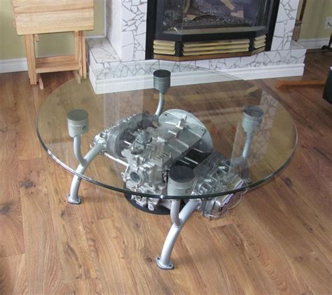 Carport Für 3 Autos 559 by Vw Motor Table Things Made Out Of Car Motorcycle Parts