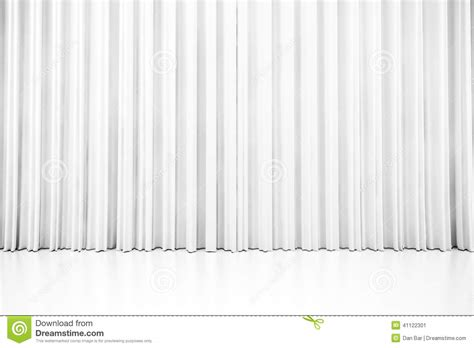 weisser vorhang wei 223 er sauberer vorhang 3d stock abbildung bild 41122301