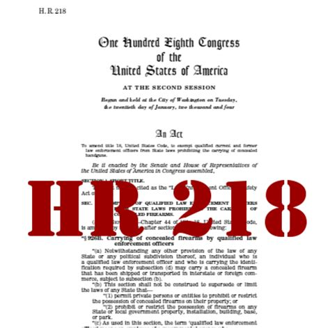 Enforcement Officers Safety Act by Hr218 Leosa Can I Carry Concealed While Working