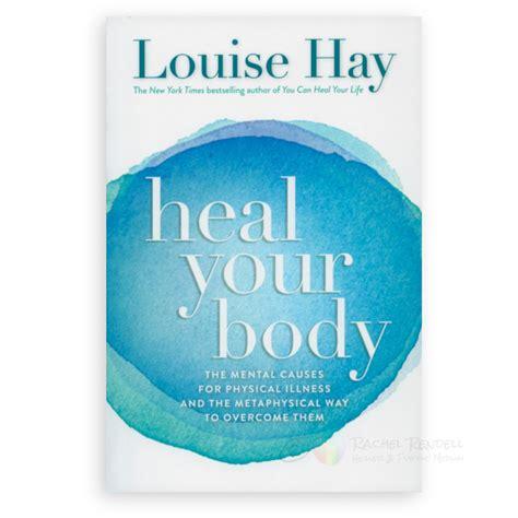 heal  body louise hay books rachel rendell